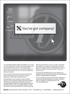 september 2003 ReporterBASe ad
