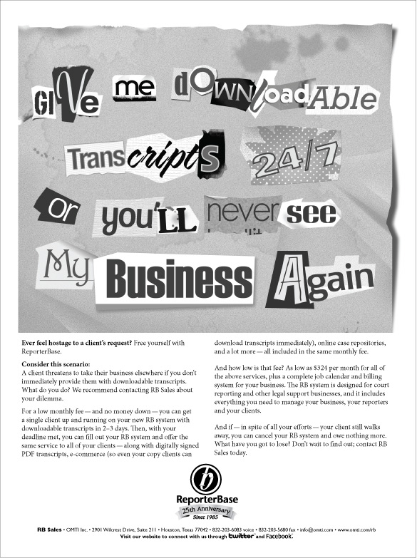 May 2010 ReporterBase ad