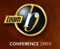 Team RB Conference logo